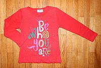 Детский реглан для девочки Cool красный 1-7 лет