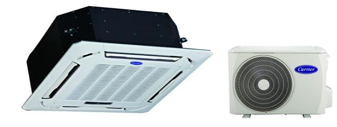 Сплит-система кассетного типа Carrier 42QTD024DS-1 / 38QUS024DS-1 / 40CAS-L2
