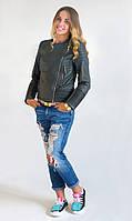 Женская куртка косуха Код:512475760