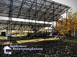 Мережева сонячна електростанція 30 кВт с. Соколівське, Кіровоградська обл. 2
