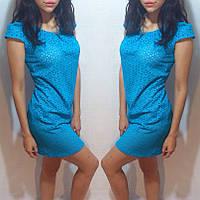 Платье из прошвы Код:514509641