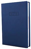 Ежедневник датированный 2018 А5 Optima VIVELLA, синий
