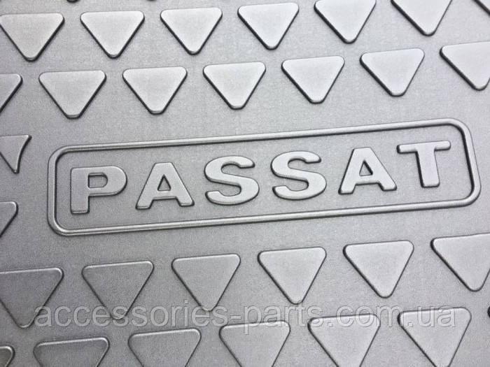 Резиновий килимок багажника Volkswagen Passat B6, B7 універсал Variant Новий Оригінальний