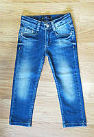 """Стильные джинсы для девочки """"Lisa Simpson"""" Турция (рост 98, 104, 110, 116, 122, 128, 140, 146)"""