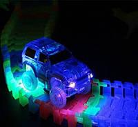 Дитяча гнучка іграшкова дорога-трек Magic Tracks з машинкою на 220 деталей