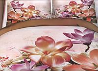 Комплект постельного белья евро-размер - № 791 Код:526936000