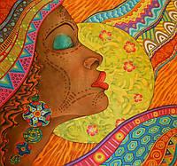 """Картина по номерам «Идейка» (КНО2637) художественный творческий набор """"Планета Африка"""", 40x40 см"""