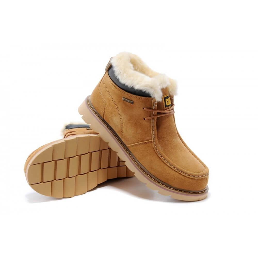 Зимние ботинки Caterpillar Winter Boots Yellow