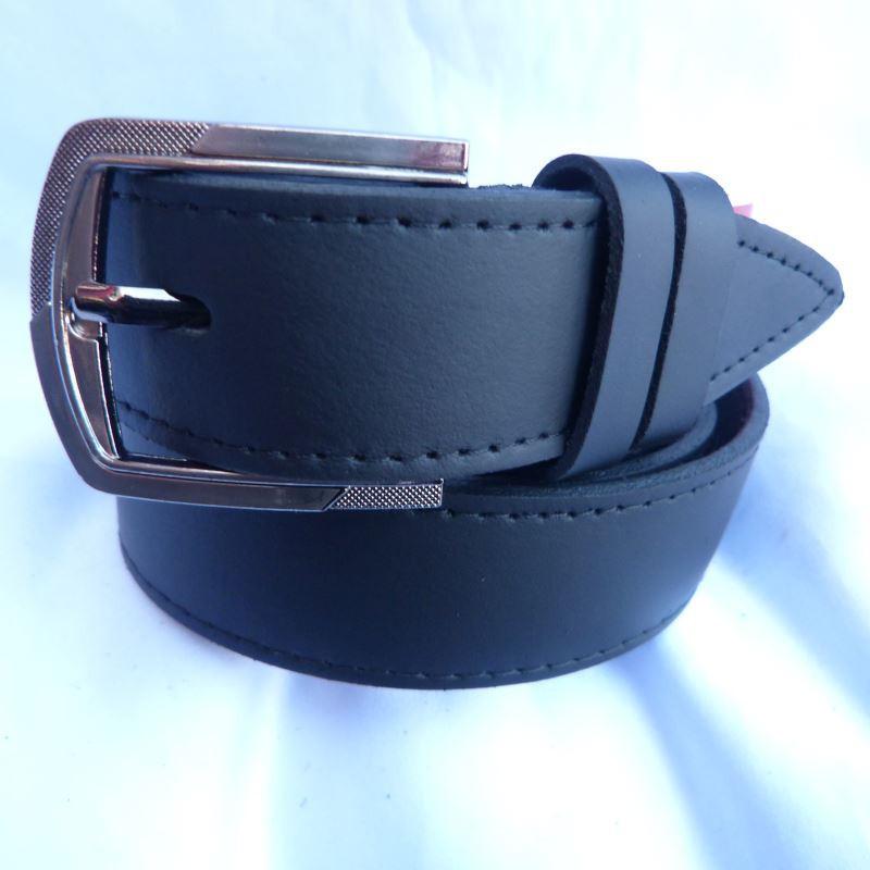 Ремень мужской Батал125-160мм кожа 35мм от компании Discounter.top - Discounter.top - оптовые цены и горячие распродажи женской одежды в Одессе
