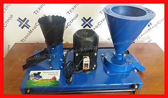 Гранулятор ГКМ-100+ (220V) + зерноизмельчитель с 1-но фазным двигателем