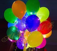Светящиеся шарики  белые