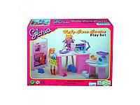 Мебель для куклы кабинет доктора, пупс, аксессуары, 9817