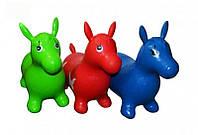 Игрушка -прыгун ослик (Разные цвета) ЕК 27-10