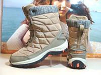 Термо ботинки женские Supo OUTDOOR бежевые 38 р.