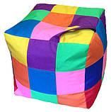 Бескаркасная мебель Пуф детский Спанч Боб кресло мешок, фото 9