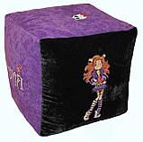 Бескаркасная мебель Пуф детский Спанч Боб кресло мешок, фото 10