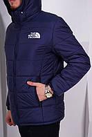 Куртка, ветровка, мастерка демисезонная, черная осень-зима-весна The North Face, ф3645