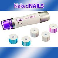 Машинка по уходу за ногтями Naked Nails с насадками