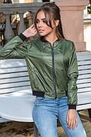 Куртка-ветровка турецкая плащевка на подкладке