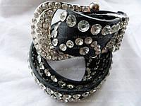 Женский ремень с камнями (35 см) — от компании Discounter.top