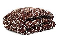 Одеяло шерстяное двуспальное евро бязь 200*210 хлопок (2895) TM KRISPOL Украина