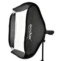 GODOX S-Type софтбокс 60х60см для вспышки полный комплект + сумка переноска