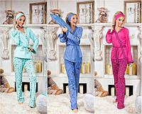 Женский домашний комплект/пижама №4017(р.42-48), фото 1