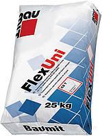 Baumit FlexUni - универсальная клеящая смесь, 25кг.