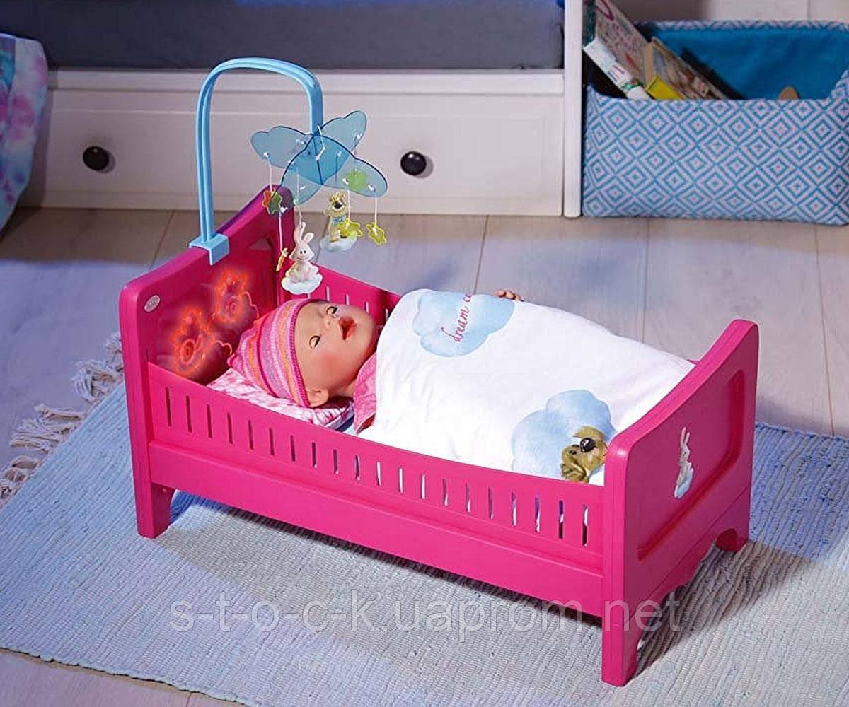 Кровать для Принцессы  Baby Born (Свет), 822289 Zapf