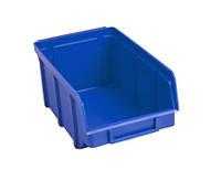 Лоток пластиковый (230х145х125 мм) для метизов синий