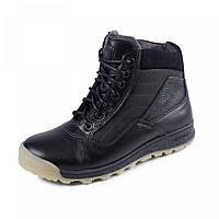 Детские ботинки на мальчика зимние натуральная кожа 34р по 39р