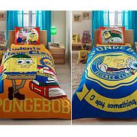 Постельное белье Tac Disney - Sponge Bob Students 160*220 подростковое