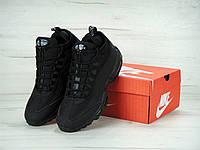 Кроссовки мужские Nike Air Max 95 Sneakerboot Black Реплика