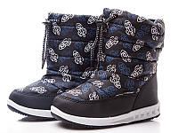 Детская обувь оптом.Зимние сноубутсы для мальчиков от Libang разм (с 27-по 32)