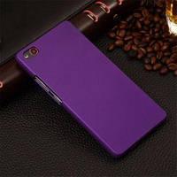 ZTE Nubia Z9 Mini накладка бампер чехол soft touch фиолетовый