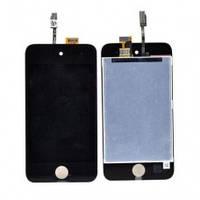 Дисплей Модуль LCD для iPod Touch4 + Touch ЧЕРНЫЙ