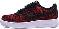 Мужские кроссовки Nike Air Force 1 Low Ultra Flyknit Red