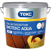 Лак-антисептик Текс Биотекс Aqua орегон 2.7 л