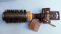 Расческа-браш Salon Professional,керамика, круглая,диаметром 43 мм
