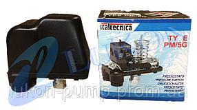 Автоматика ( реле давления ) для насоса Италия Оригинал РМ-5