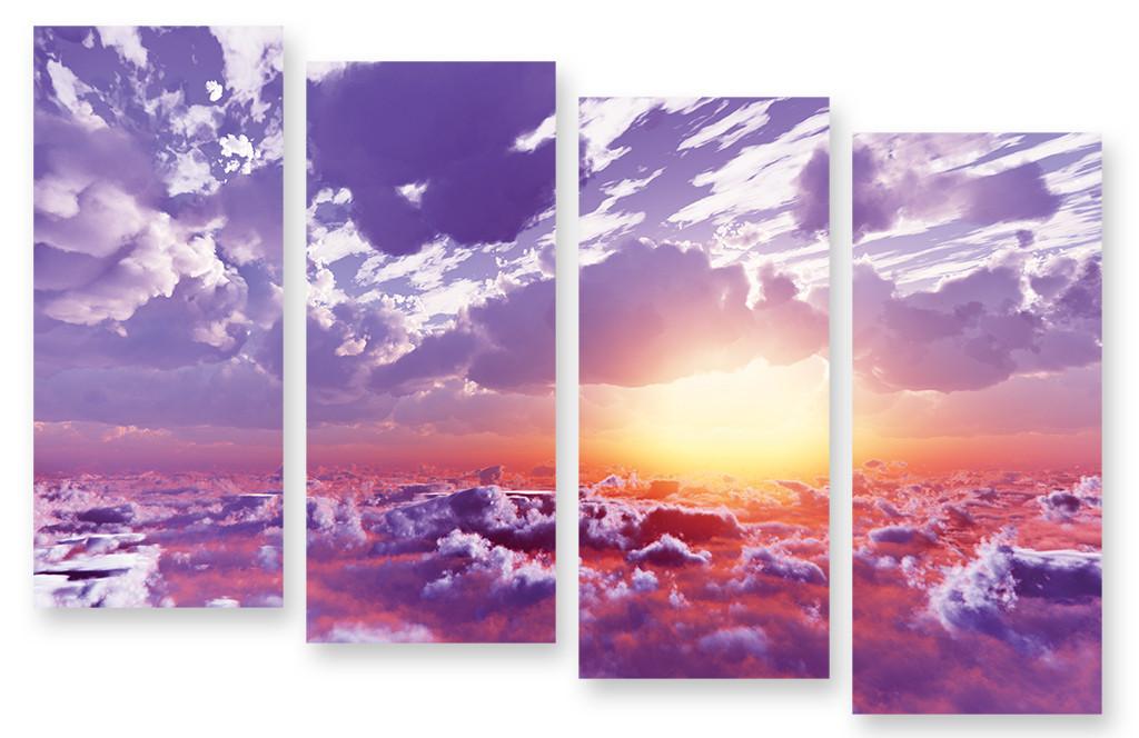 Модульная картина облака