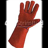 Краги для сварочных работ с подкладкой «Sandpiper Red» , фото 3