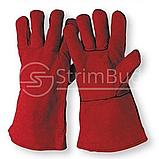Краги для сварочных работ с подкладкой «Sandpiper Red» , фото 2