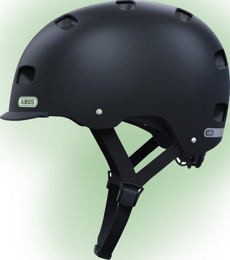 Велошолом ABUS SCRAPER KID v.2 velvet black (S)