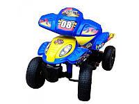 Квадроцикл, 2 мотора 28 W, 2 аккумуляторная 6V7AH, синий, M2403ER-4