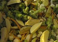 """Смесь """"Овощная для жарки"""" (морковь, картофельные ломтики, фасоль стручковая, брокколи, кукуруза) замороженная"""