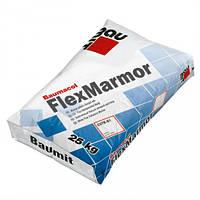 Baumit FlexMarmor - клеящая смесь для мрамора и стеклянной мозаики, 25кг.
