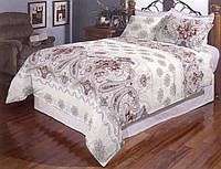 Двуспальный комплект постельного белья евро 200*220 хлопок  (7248) TM KRISPOL Украина