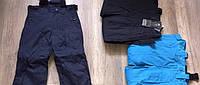 Лыжные на флисе штаны  на мальчиков    104 / 134 см