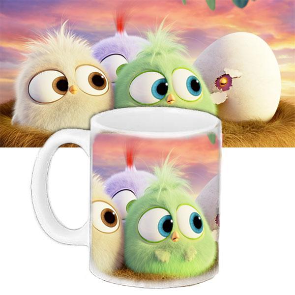 Кружка детская с принтом Angry Birds энгри бердс дети